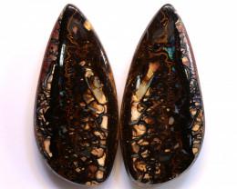 108.30 cts Australian KOROIT Opal Pair DO-1224