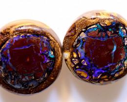 46.10 cts Australian Yowah Opal Nut Pair DO-1228
