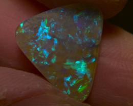 2.95ct Lightning Ridge Solid Opal Multiple Gem colors, No Reserve