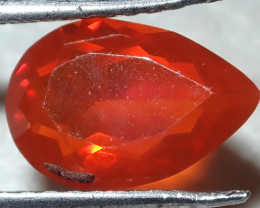 1.02ct Facetted Fire Opal