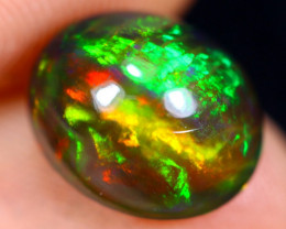 2.76cts Natural Ethiopian Welo Smoked Opal / HM1486