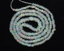 21.30 Ct Natural Ethiopian Welo Opal Beads Play Of Color OB124