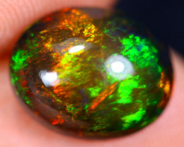 2.80cts Natural Ethiopian Welo Smoked Opal / HM1504