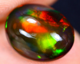 2.37cts Natural Ethiopian Welo Smoked Opal / HM1516
