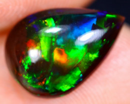 1.83cts Natural Ethiopian Welo Smoked Opal / HM1520