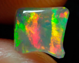 1.29ct Fire Opals With Play Of Color