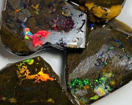 Should watch the video- Stunning Red Matrix Boulder Opal Rubs#2282
