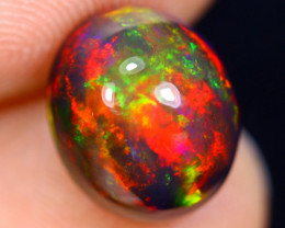 3.00cts Natural Ethiopian Smoked Welo Opal / BF5003