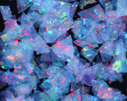 3.00 CTS  GEM THIN CRYSTAL SLICES PARCEL .IDEAL MOSAIC -[MS9002]