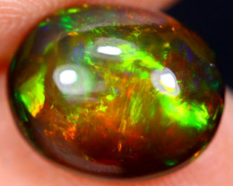 2.06cts Natural Ethiopian Smoked Welo Opal / BF5007