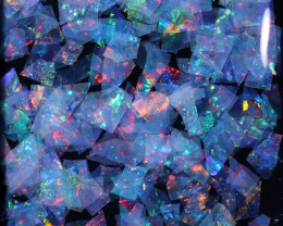 3.00 CTS  GEM THIN CRYSTAL SLICES PARCEL .IDEAL MOSAIC -[MS9023]