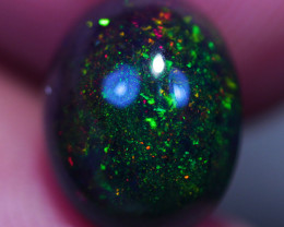 1.90CT 10X8MM Top Quality Natural Welo Ethiopian Smoked Opal-BO26