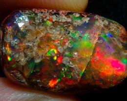 17ct Mexican Matrix Cantera Multicoloured Fire Opal Specimen