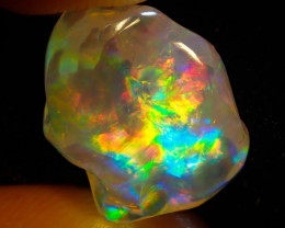 9.34ct Fire Opals With Play Of Color