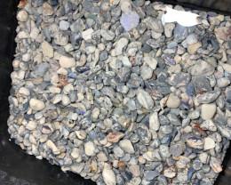 7500 CTs (1.5 kg) Black Nobby- Low grade, potch & colour#2302