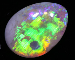 0.85 cts  DARK  Opal Lightning Ridge Cut Stone DO-1353