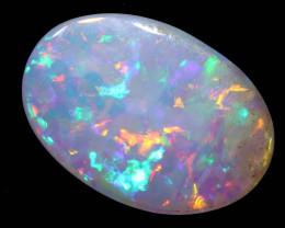 0.80 cts Australian DARK  Opal Lightning Ridge Cut Stone DO-1354