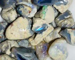 Nobby- High Potential Rough Dark Nobby Opals, 210 CTs#2323