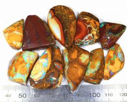 300ct 10pcs Natural Yowah Boulder Opal Rough Parcel [BRP-166]