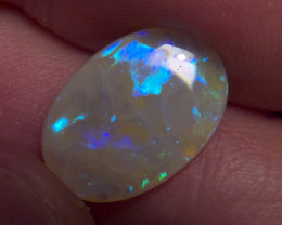 2.86ct  gorgeous Lighting Ridge Solid crystal Opal, No Reserve
