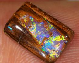3.8ct 11x7.5mm Queensland Boulder Opal  [LOB-3724]