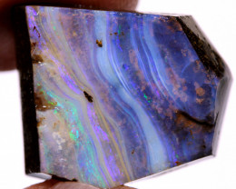 26 cts Ocean Blues Boulder Opal Faced Rub  DO-1369