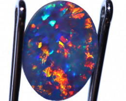 0.830 carats Opal Doublet Stone ANO-1177