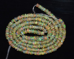 18.05 Ct Natural Ethiopian Welo Opal Beads Play Of Color OB118