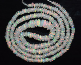 20.10 Ct Natural Ethiopian Welo Opal Beads Play Of Color OB119