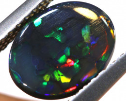 N1 - 1.15 CTS QUALITY BLACK OPAL POLISHED STONE  INV-2087