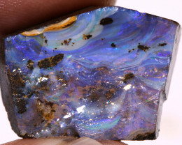 27cts Boulder Opal Faced Rough  DO-1390
