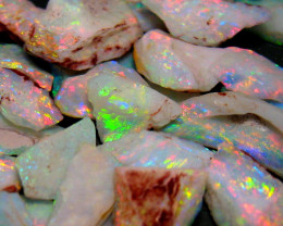 Australian Rough Opal Parcel Small Stones 244 ct 48.8g 15 Mile and Olympic