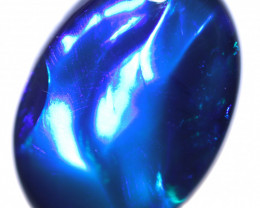 3.19 CTS BLUE OPAL STONE-FROM LIGHTNING RIDGE - [LRO1696]