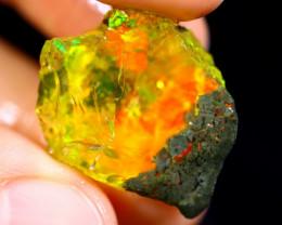 21cts Ethiopian Crystal Rough Specimen Rough / CR2852