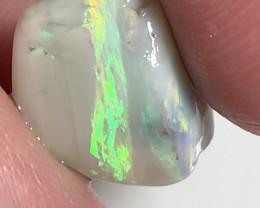 A piece of gem- Semi Black Seam With Exquisite Colour Bar to Cut#2393