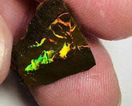 TOP NOTCH SUPER VIVID ROUGH MATRIX KOROIT BOULDER OPAL#2405