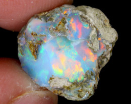 6cts Natural Ethiopian Welo Rough Opal / WR5986