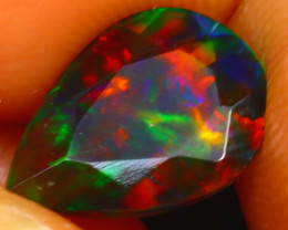 Welo Opal 1.32Ct Natural Ethiopian Smoked Welo Opal HR119/A28