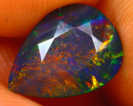 Welo Opal 1.21Ct Natural Ethiopian Smoked Welo Opal HR120/A28