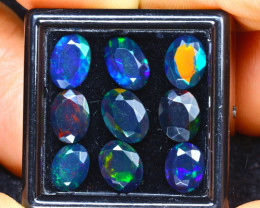 Welo Opal 5.50Ct 9Pcs Natural Ethiopian Smoked Welo Opal HR122