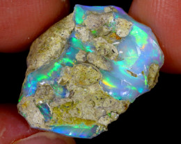 8cts Natural Ethiopian Welo Rough Opal / WR6021
