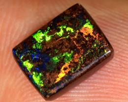2.8ct 9x7mm Queensland Boulder Matrix Opal  [LOB-3750]
