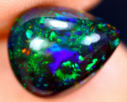2.70cts Natural Ethiopian Welo Smoked Opal / HM1692