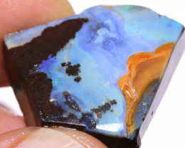 45cts Boulder Opal Faced Rough  DO-1430