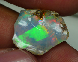 7.160 CRT WELO OPAL ROUGH MULTICOLOR ETHIOPIAN OPAL