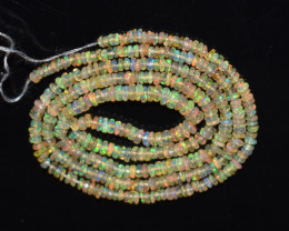 17.80 Ct Natural Ethiopian Welo Opal Beads Play Of Color OB137