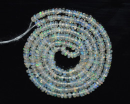 17.05 Ct Natural Ethiopian Welo Opal Beads Play Of Color OB152