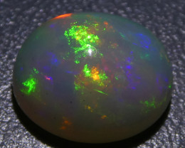 2.91ct Oval Cabochon Crystal Opal