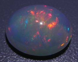 3.60ct Oval Cabochon Crystal Opal
