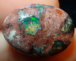 19ct Mexican Matrix Cantera Multicoloured Fire Opal